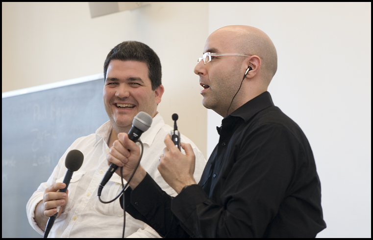 CC Chapman and Mitch Joel Present at PodCamp Montreal