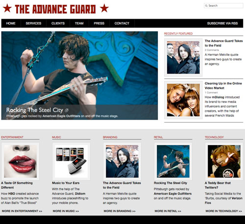 The Advance Guard Home Page