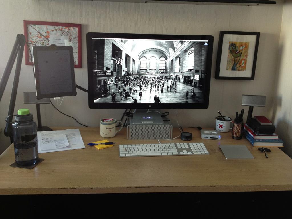 My Desk - 1-3-2013