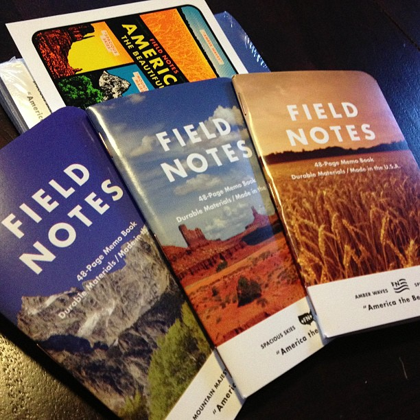America the Beautiful Field Notes