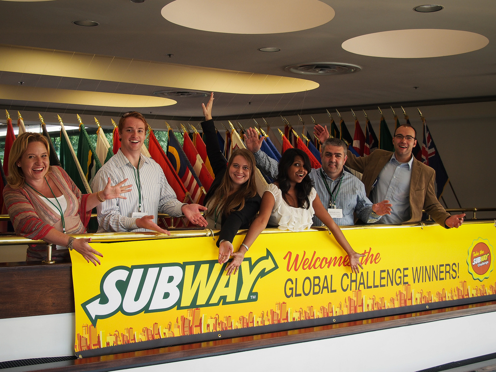 Subway Global Challenge Winners