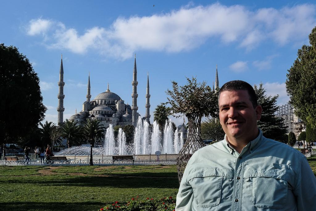 CC Chapman in Istanbul