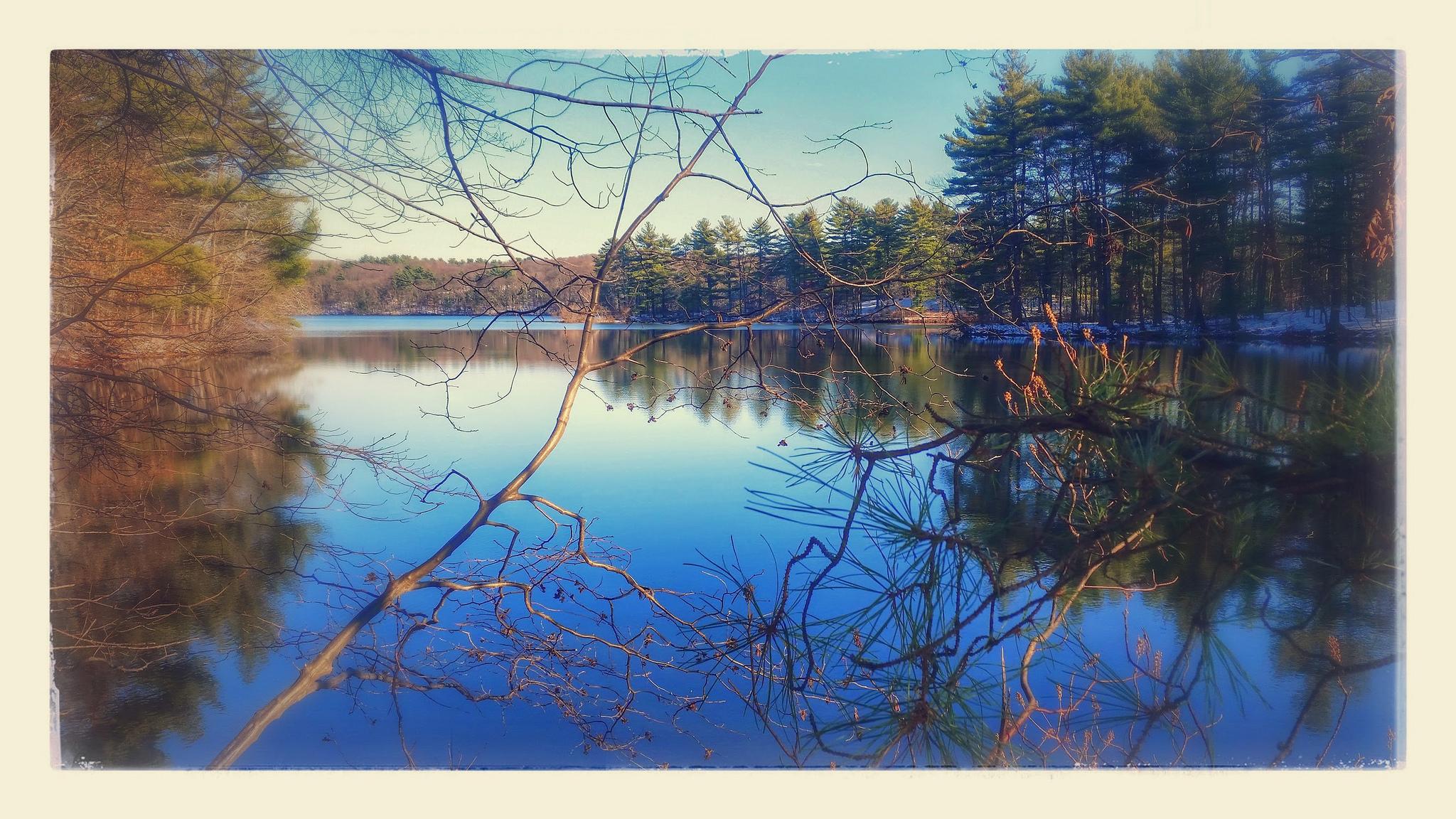 Ashland Reservoir Postcard