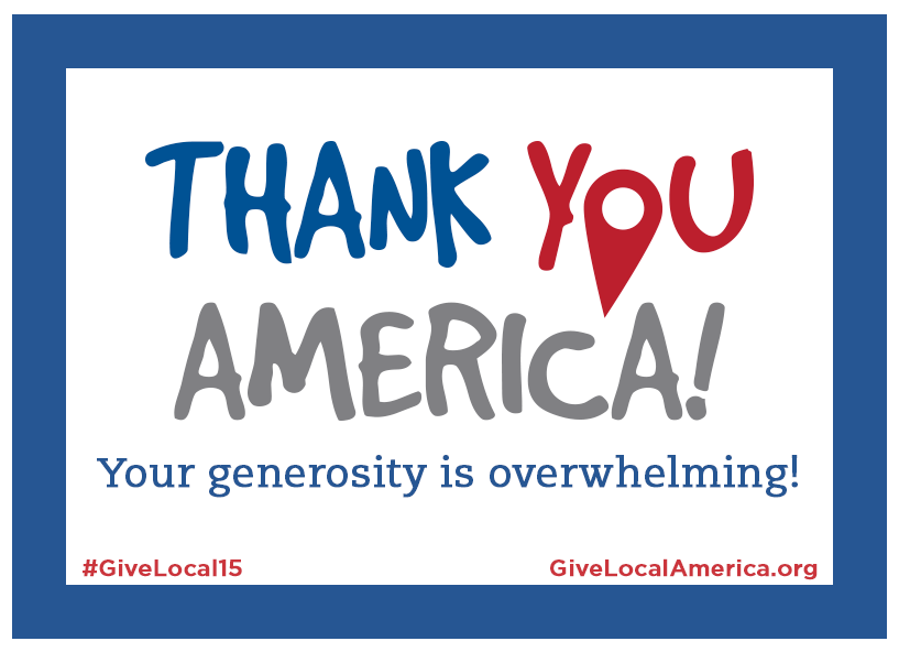 Give Local Thank You