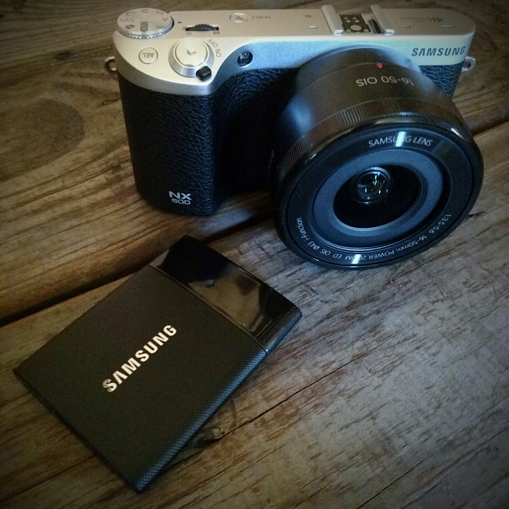 Samsung T1 and NX500