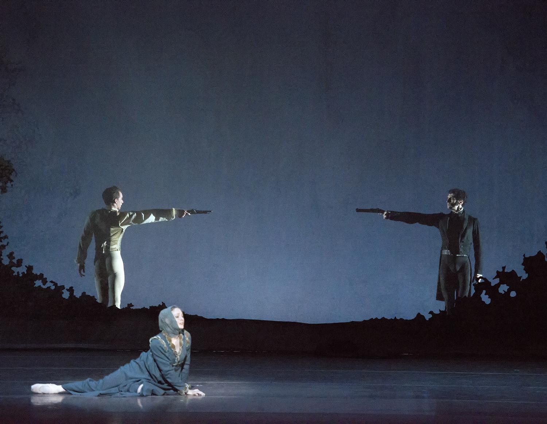Boston Ballet_PatrickYocum_AshleyEllis_LashaKhozashvili_JohnCranko'sOnegin(c)GeneSchiavone