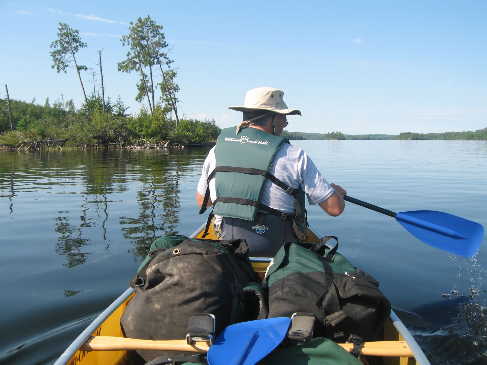 Canoeing with my Dad in the Boundary Waters