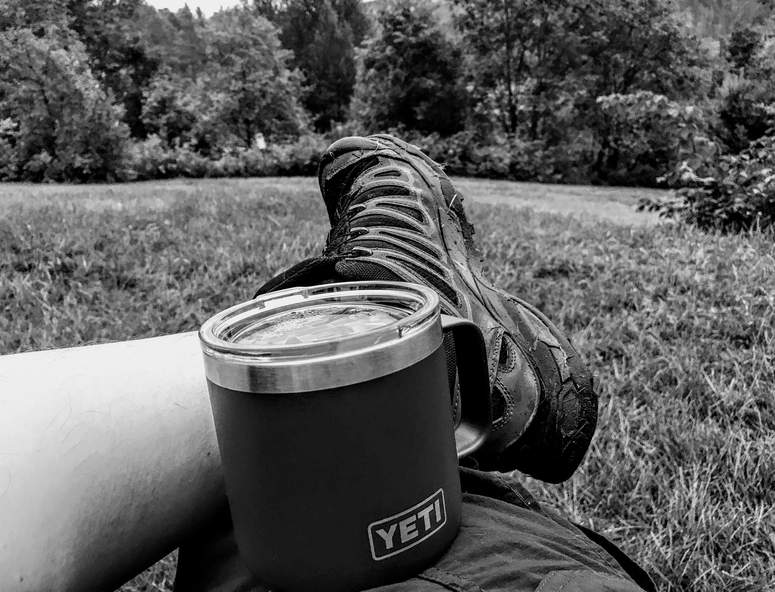 Quiet Morning Coffee in Echo Valley