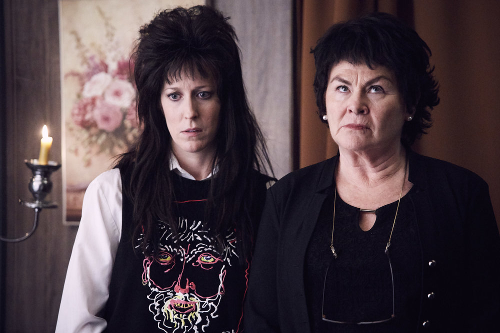 Susan Kent and Mary Walsh in  A Christmas Fury