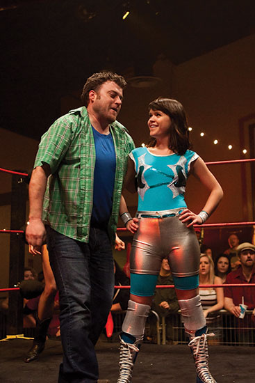 Robb Wells and Marthe Bernard in  Beat Down
