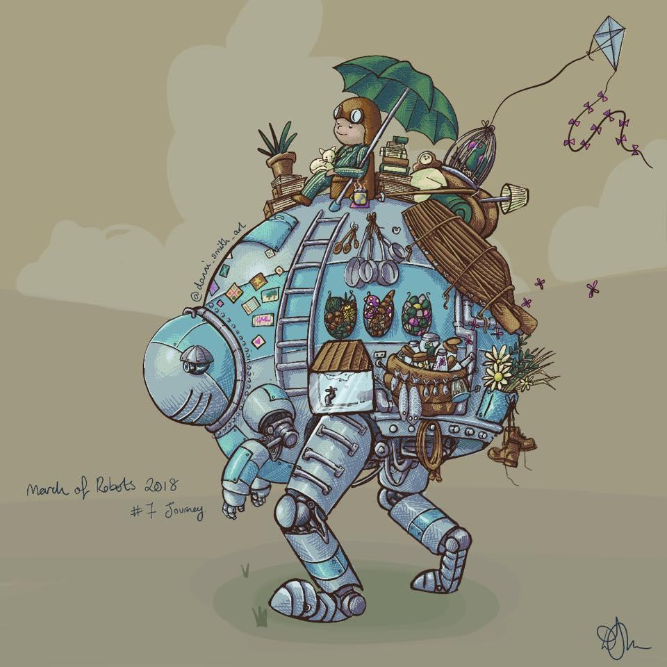 Danni Smith Art - robot transit.jpg