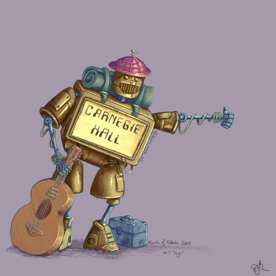 Danni Smith Art - Carnegie Hall robot.jpg