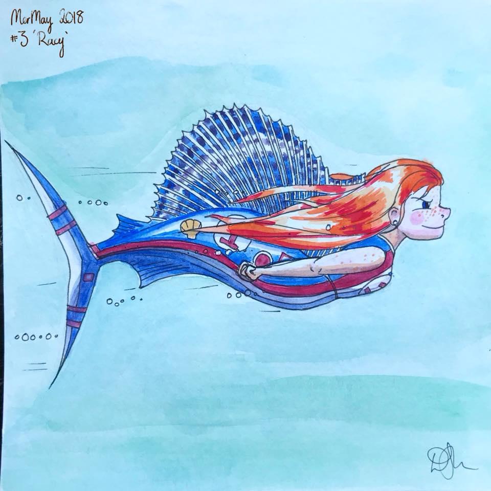 Danni Smith Art - racer mermaid.jpg