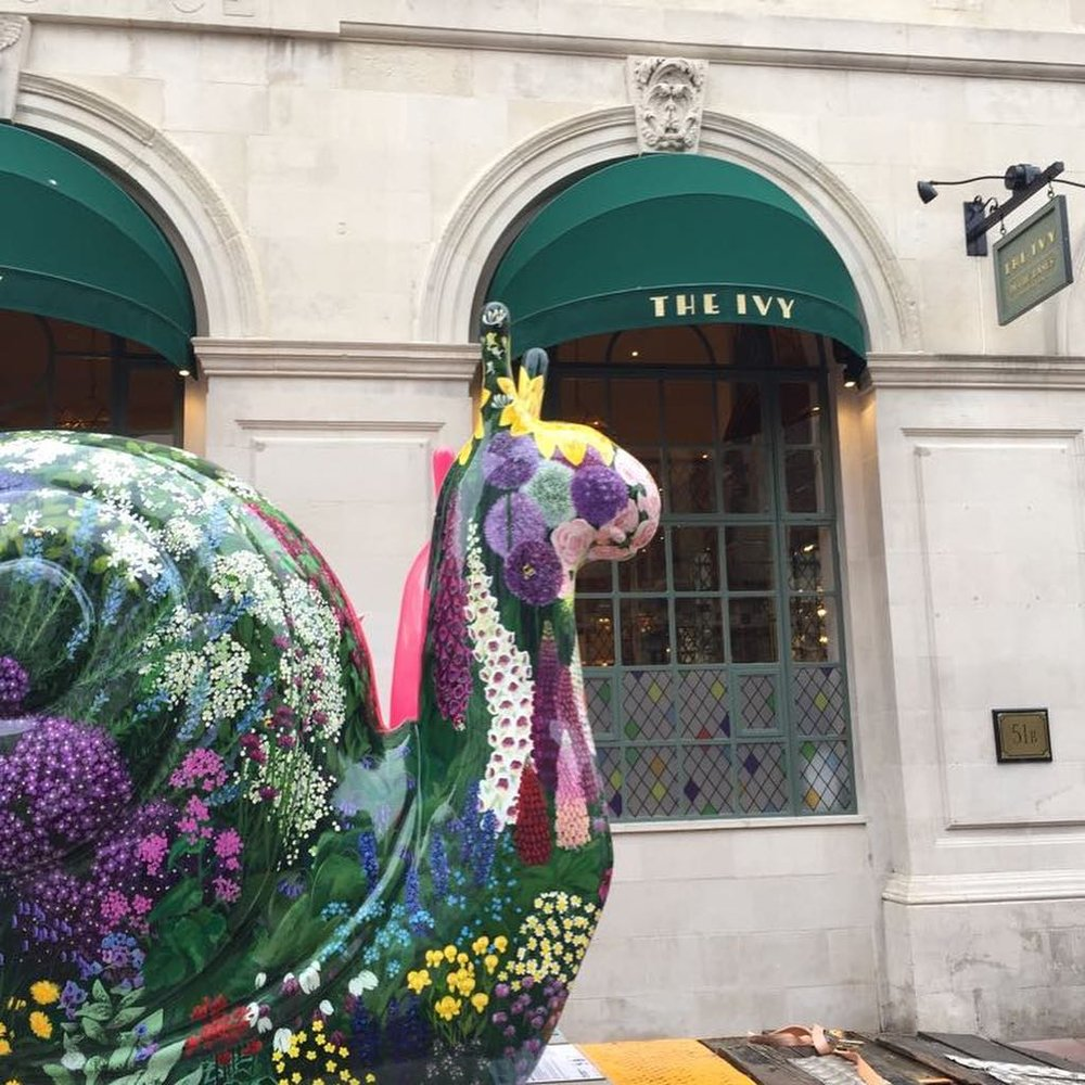 Danni Smith Art - Martlets snail at the Ivy Brighton.jpg