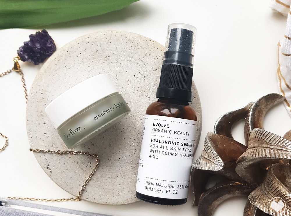 My 2 vegan beauty essentials for dry skin - By Evolve & Ere Perez