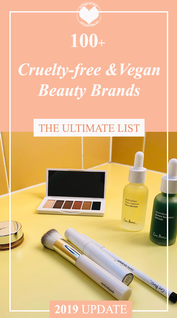 PIN TIME - Vegan & Cruelty-free Beauty Brands