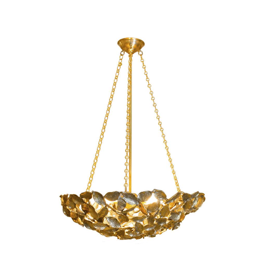Bay Leaf chandelier.JPG