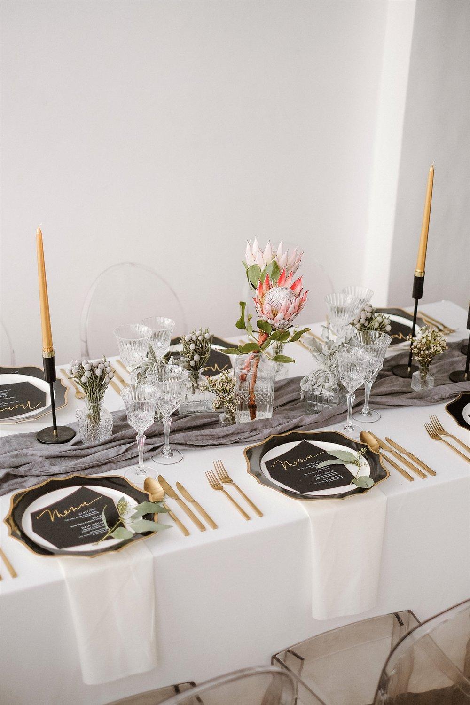 Gray Sage Atlanta Event Design Styled Engagement Dinner