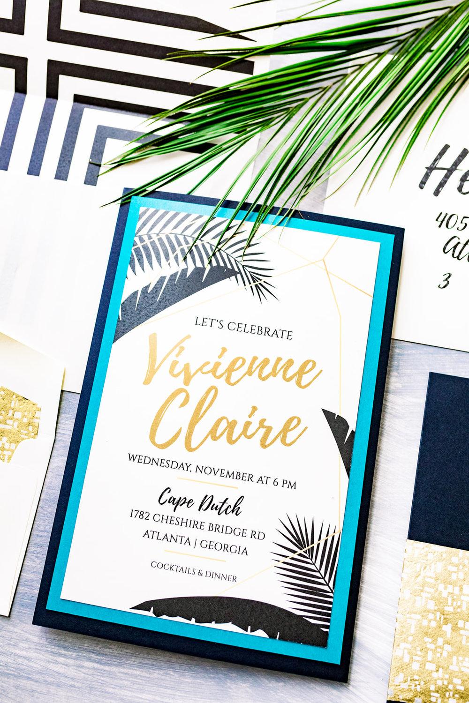 Gray Sage Atlanta Event Design Luxe Tropics Shoot