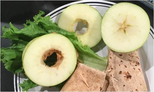 ApplePeanutButterSandwich