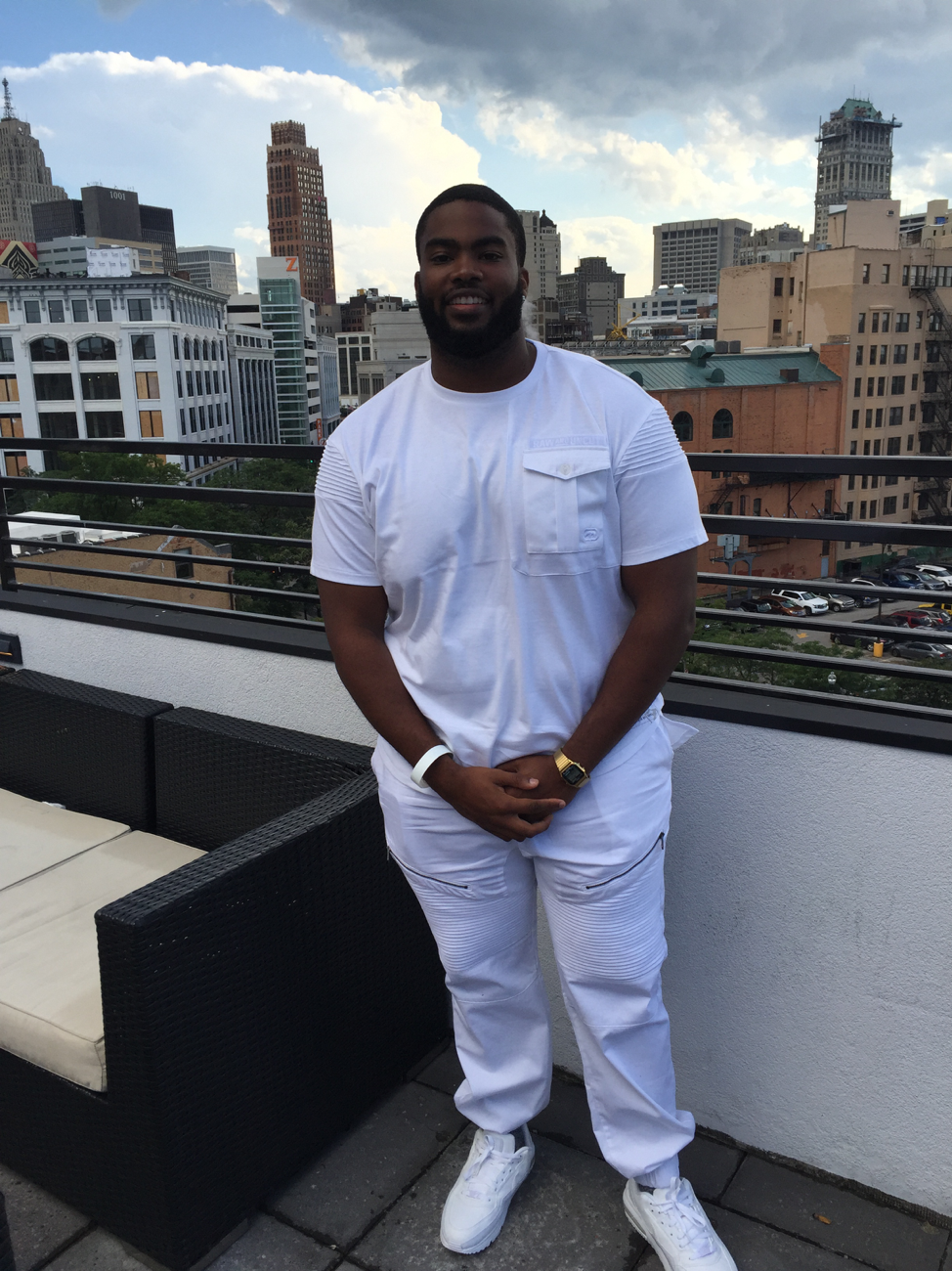Leo McAfee Jr. found a healthy program he believes in – and is sticking to it even on vacation without feeling as if he's missing out.
