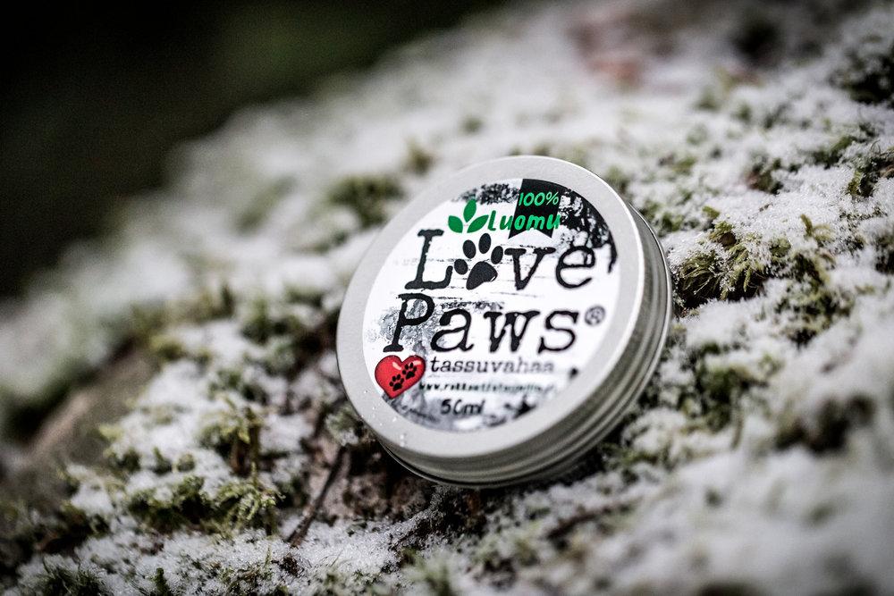 LovePaws® tassuvaha antaa kestävän suojan koirasi tassuille.