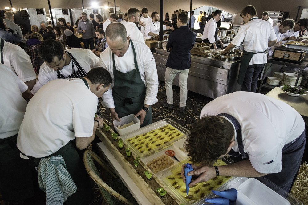 Food, drink, celebration and collaboration. -