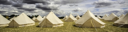 CAMPING + GLAMPING OPTIONS -