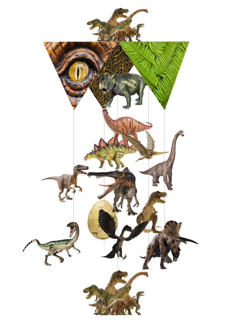 Jurassic Card Theia Chandelier Card™ opened card