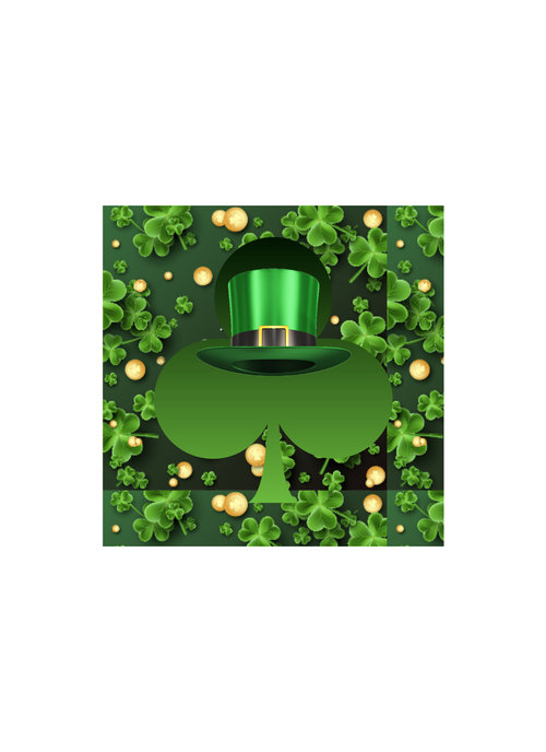 Saint Patrick's Day Theia Chandelier Card™ unopened card