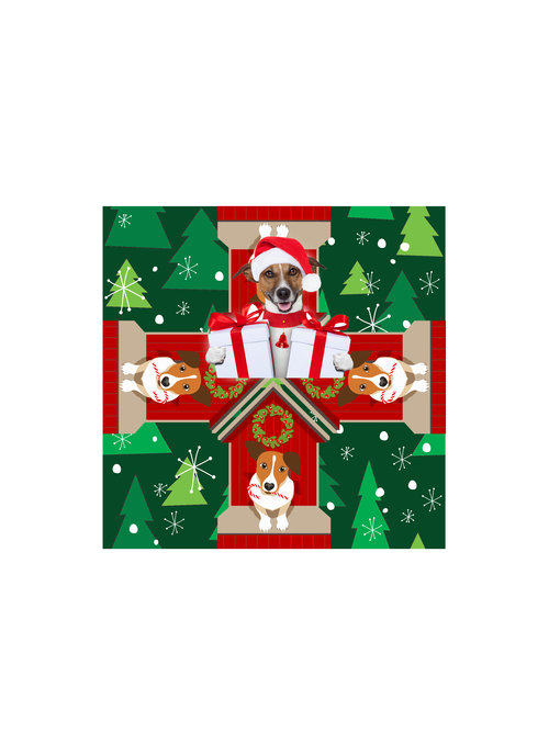 Dog Christmas Theia Chandelier Card™ unopened card