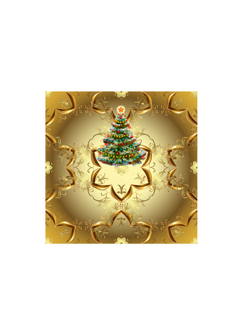 Victorian Christmas Theia Chandelier Card™ unopened card