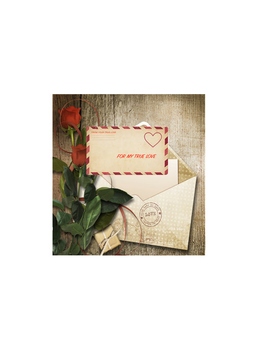 Be My Valentine Theia Chandelier Cards™ unopened card