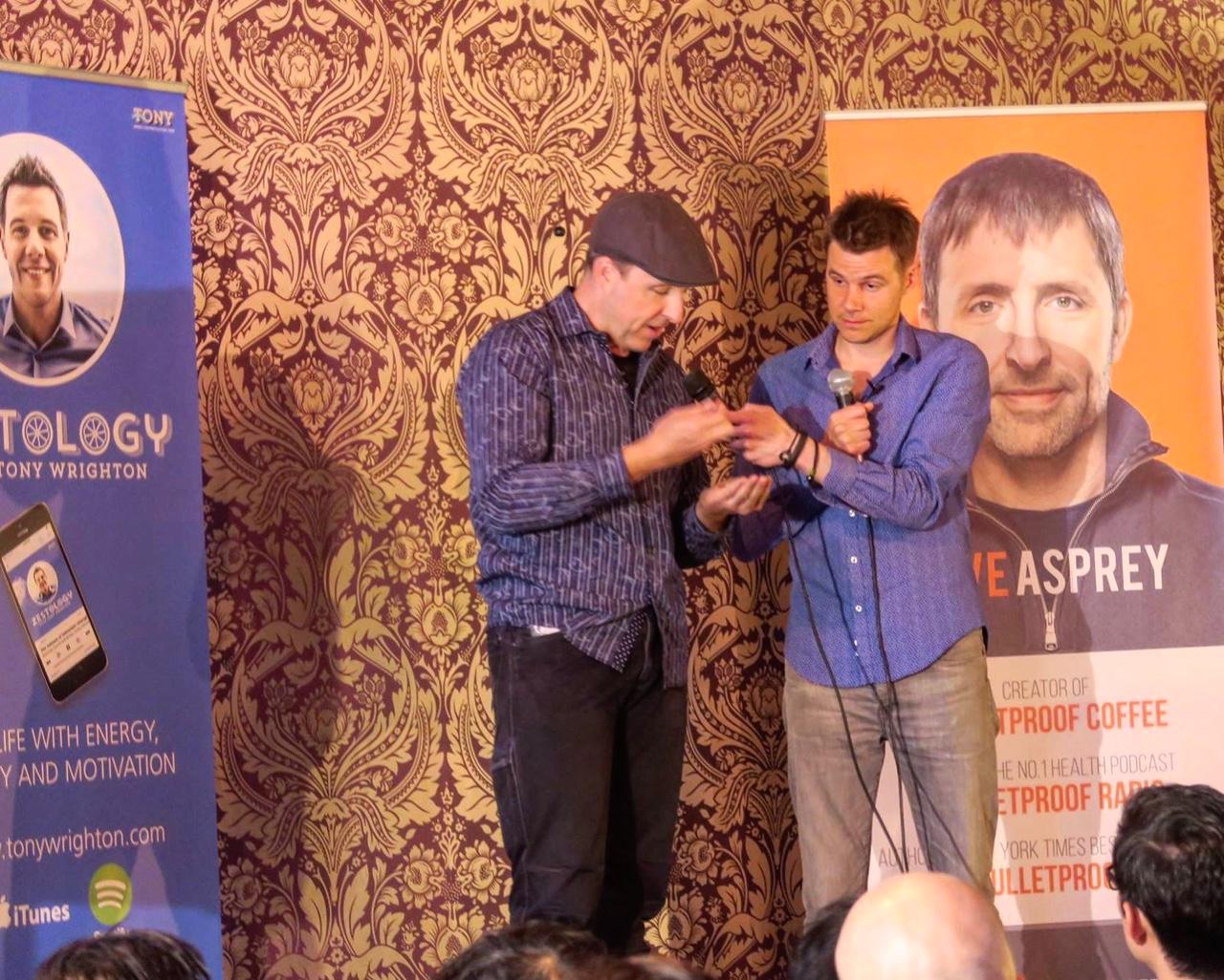 Dave Asprey and Tony Wrighton podcast interview