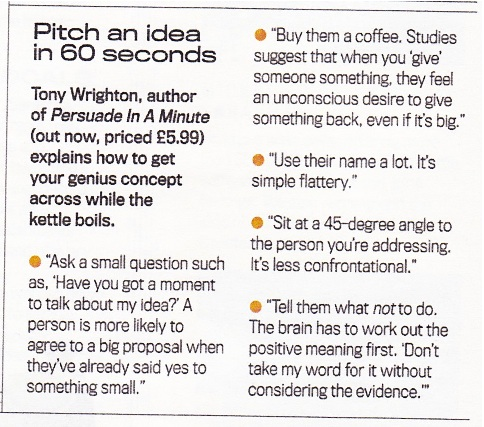 Shortlist article by Tony Wrighton