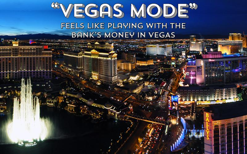 'Vegas Mode' Tony Wrighton blog