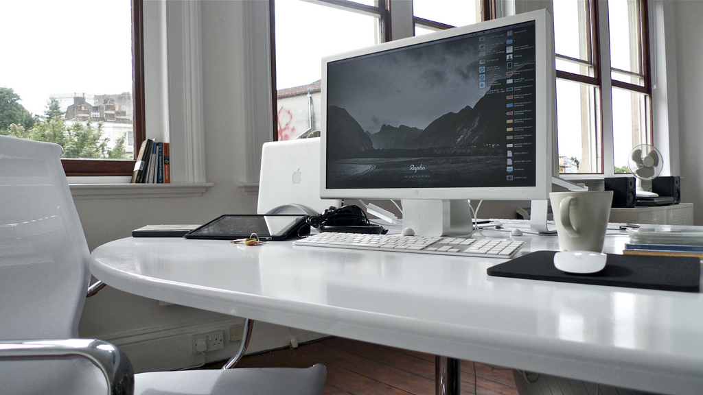 Mild Bunch HQ desk