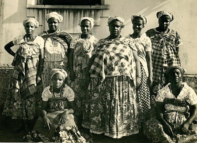 Gullah Geechee women in the early 20th century