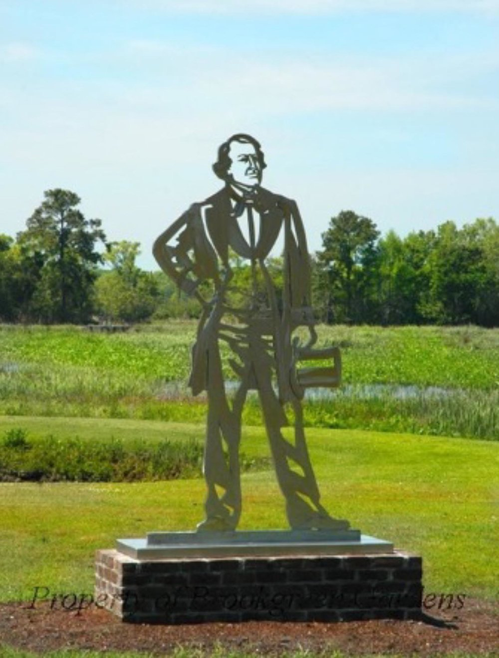 Plantation Owner . Metal Sculpture. 2005-2006