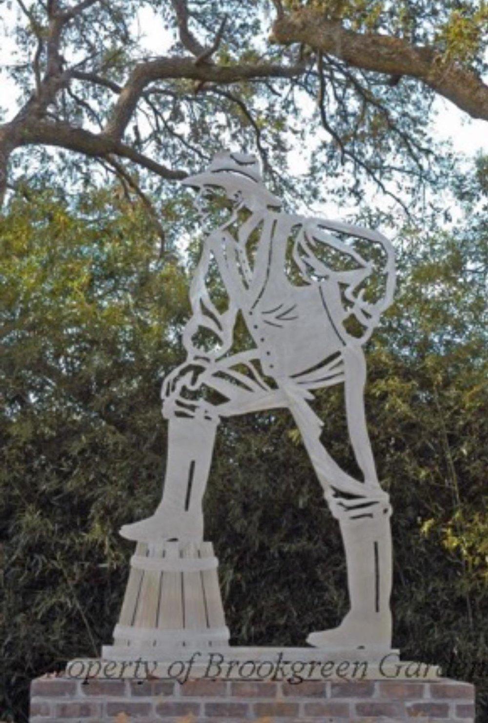 Overseer.  Metal Sculpture. 2005-2006