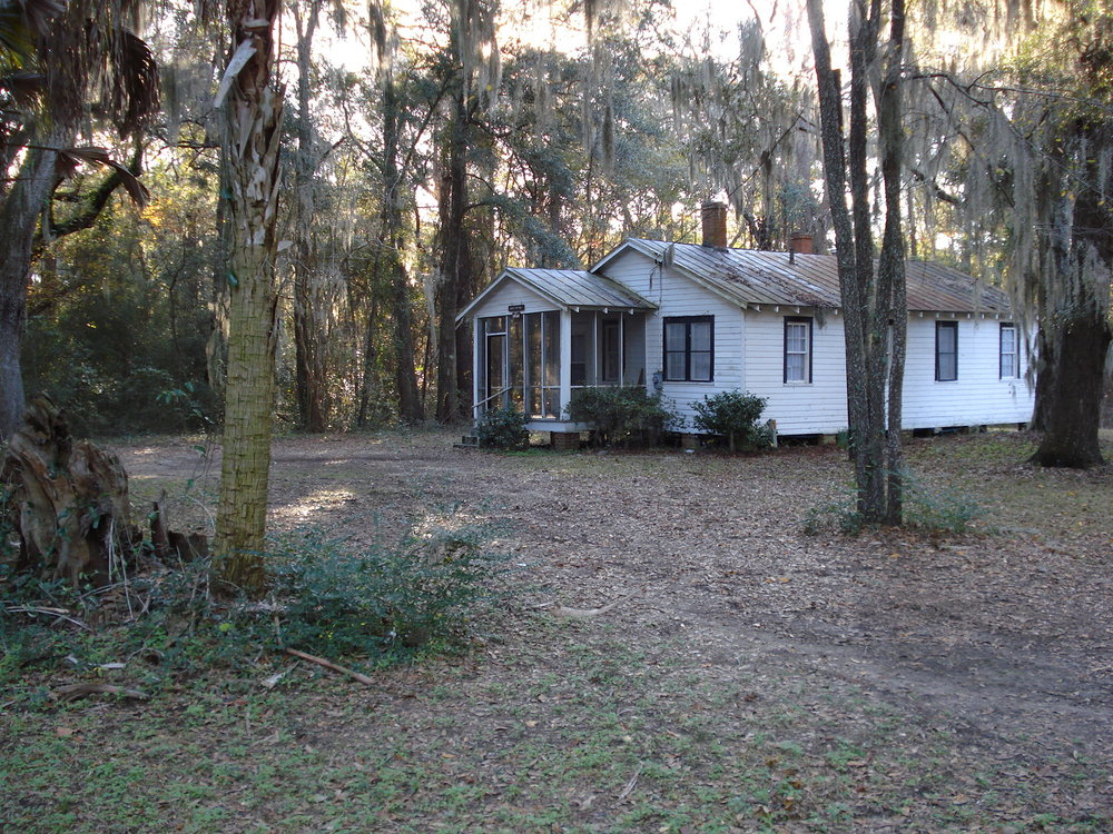 Gantt Cottage where Civil Rights activist Martin Luther King Jr. stayed for interracial conferences in 1967
