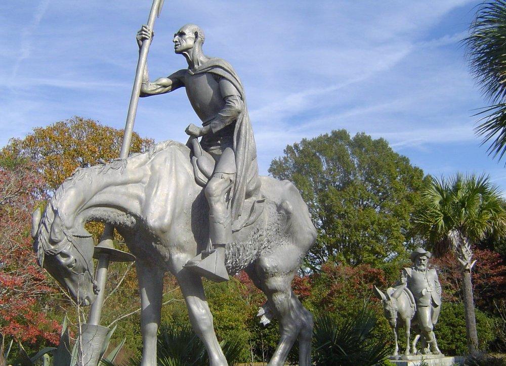Don Quixote , aluminum. 1947