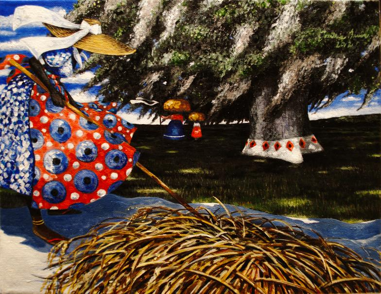 Jonathan Green, Lowcountry Rice Culture, 2012 Oil on canvas, 11in. x 14 inches