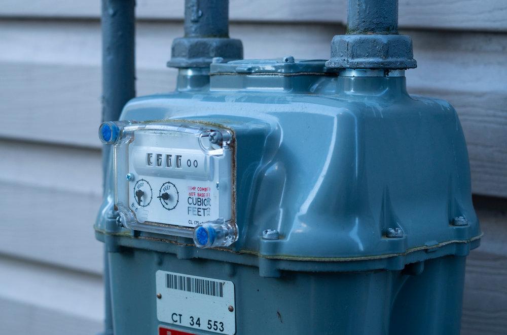 Natural Gas Meter