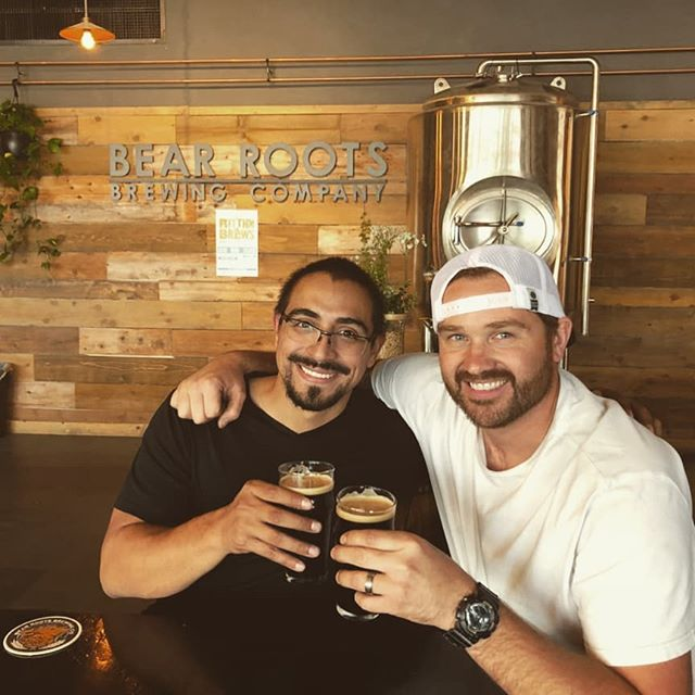 Excited for a future with Bear Roots Brewing! Their beers are phenomenal!  #beer # cerveza #brewery #brewski #cheers #bearrootsbrewingco #phenomenal #delicious #fermenter #brewingequipment