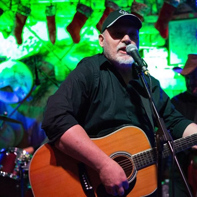 Coach on guitar! #countrymusic #country #countryartist #guitar #acoustic #music #livemusic #dunedin #dunedinbrewery #florida #tampa #folk #americana #bluegrass