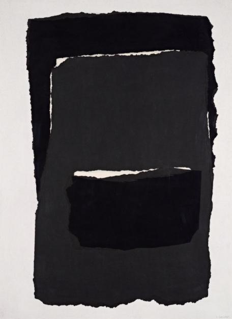 Etana, 1964 Paper Collage on hardboard