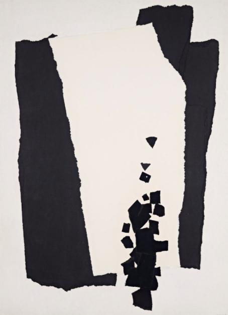 Giardino a mezzogiorno; Jardin a midi, 1964 Paper Collage on hardboard