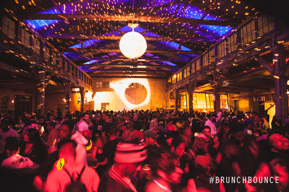 Nov 30:Brunch Bounce Takeover, including HEWY + PLAYTHEMUSIC + EAUXZOWN -