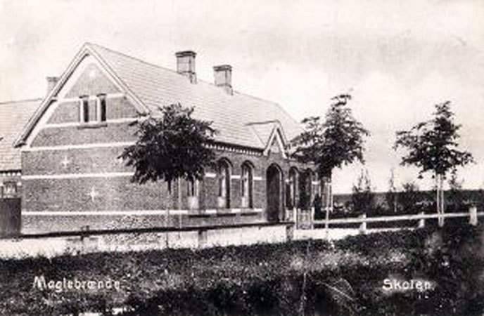 Postkort 1909, foto: arkiv.dk